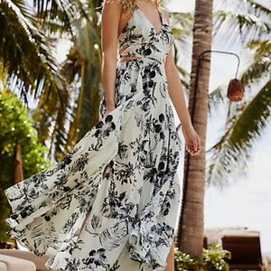Freepeople Lille Printed Maxi Dress